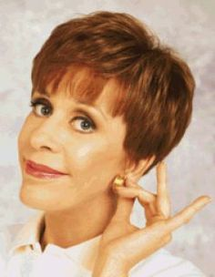 Carol Burnett- when I was a little girl, I wanted to be her, or Cher when I grew up. Now that I'm a grown up, I've decided I want to be Carol.