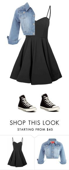 """prom"" by cara-mcknight on Polyvore featuring Glamorous and Converse"