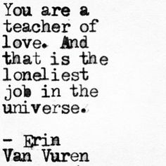 I wonder when we'll allow ourselves to be the student. ✨  #erinvanvuren #papercrumbs