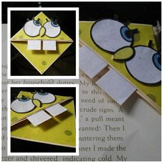 Attention all bookworms! Here's how to spice up your books and replace all those boring bookmarks :)