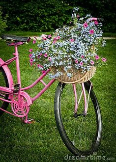 Super old bike basket vintage bicycles ideas Bicycle Decor, Bicycle Art, Bicycle Design, Bike Planter, Front Yard Decor, Old Bikes, Vintage Bicycles, Plant Design, Container Plants