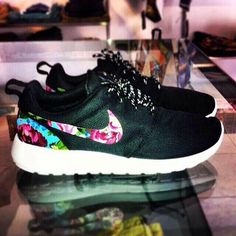 Nike with floral, i absolutely love.