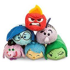 Disney Inside Out ''Tsum Tsum'' Mini Plush Collection | Disney Store
