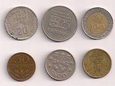 Moeda Portuguesa - Escudos #moedas #coin #Portugal