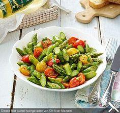 Spargelsalat mit Kirschtomaten (Rezept mit Bild) von Mazzetti   Chefkoch.de