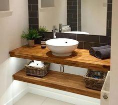 Concrete Bathroom, Tiny Bathrooms, Attic Bathroom, Bathroom Renos, Basement Bathroom, Bathroom Faucets, Bathroom Interior, Small Toilet Room, Big Baths