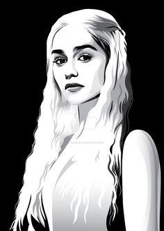 Daenerys Targaryen by pin-n-needles.deviantart.com on @DeviantArt
