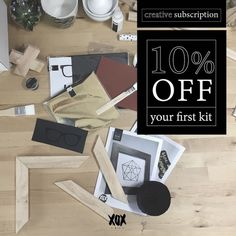 Want 10% off your first XOXkit creative subscription box? Simply...