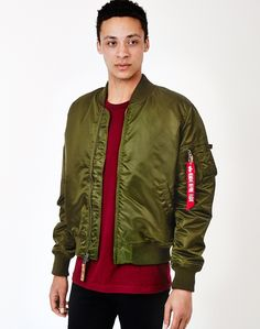 Alpha Industries MA-1 VF59 Bomber Jacket Dark | Shop men's jackets and clothing at The Idle Man