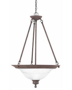 Thomas Lighting SL8634-81Three Light Pendant Chandelier in Tile Bronze Finish   Quality Discount Lighting   Major Brands at 60-80% Off