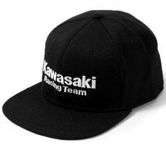 b89095402e271 Factory Effex Team Kawasaki Mens Caps Motocross Motorcycle Flexfit Hats  Kawasaki Ninja
