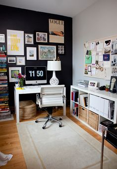 I love the aesthetic here. Live Creating Yourself.: My Old Apartment Tour: Restyled Before and After