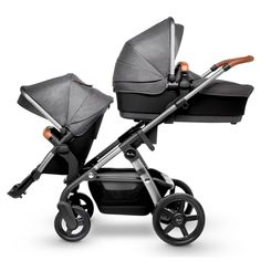 Cochecito 2in1 bambimo color black-Edition combi niños carro Buggy asiento deportivo