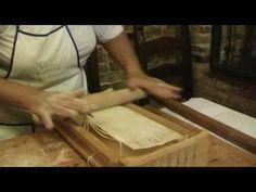 ▶ Corropoli (TE) - Gabriele Cartelli - Lavorazione pasta - YouTube