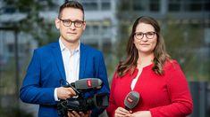 Jonas Bischoff und Anita Bünter, Fernsehen SRF, 2020