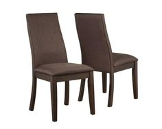 Shop 2 Coaster Furniture Spring Creek Brown Dining Chairs with great price, The Classy Home Furniture has the best selection of Dining Chairs to choose from Mismatched Dining Chairs, Industrial Dining Chairs, Upholstered Dining Chairs, Dining Chair Set, Dining Room Chairs, Side Chairs, Dining Table, Kitchen Chairs, Wood Table