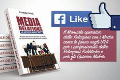 Metti un #like sulla pagina Facebook del #libro Media Relations. Il metodo americano