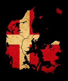 Maps art prints at FreeArt. From Africa Map and Antique Map to Vintage Map and World Map, FreeArt provides FREE inch prints of over 40 million images! Antique Maps, Vintage Maps, Canvas Art, Canvas Prints, Art Prints, Danish Flag, Denmark Map, Map Tattoos, Map Outline