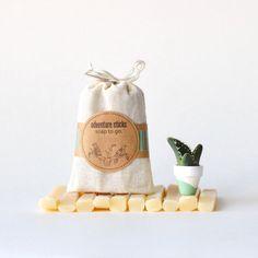 Adventure Sticks Travel Soap :: Soap To Go :: Peppermint Vanilla by prunellasoap