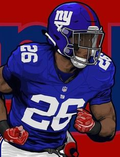 We now got all the pieces we needed let's go big blue. I'm saying it is winning rookie of the year. Let's go Giants. New York Giants Football, Steelers Football, Football Helmets, Football Players, Go Big Blue, Nba Sports, Football Wallpaper, Sports Images, Football Pictures