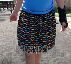 20130528 014128 Mustache Skirt