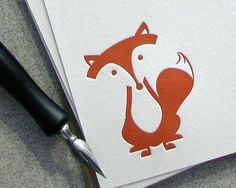 Fox Note Card Set