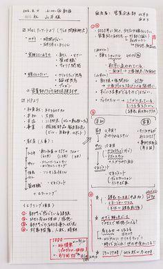 スゴ技1:打合せのメモは前から書く。発想のメモは後ろから書くコクヨのある社員は、「1冊のノートを複数の目的で使えるようにしている」と言います。打合せ用のノート、メモ用の……などと、目的別にノートをいく…