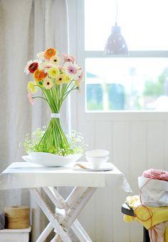 Decoracion con flores