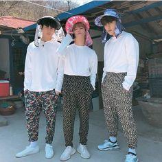 chan, jay and donghyuk