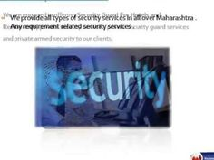 All Type Security Services In Pune - Om Sai Security Services - YouTube
