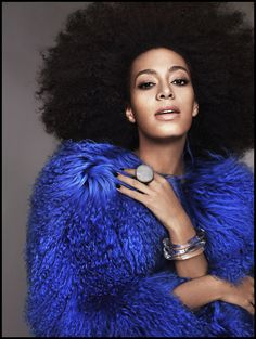 Solange giving major sauce: Ruven Afanador for EW #COCOBelle