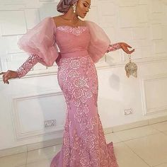 Aso Ebi Lace Styles, African Lace Styles, Lace Dress Styles, African Lace Dresses, Green Lace Dresses, Latest African Fashion Dresses, Women's Fashion Dresses, African Evening Dresses, Ankara Styles