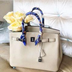 Hermes Birkin Bag For Fashion Women. Most Luxury Bag To Wear Day And Night. #Hermes #Handbags