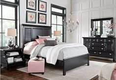 Belmar Black 5 Pc King Bedroom. $1,188.00.  Find affordable Bedroom Sets for your home that will complement the rest of your furniture.