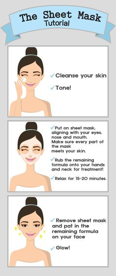 A go-to guide for sheet masking: