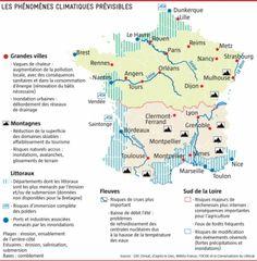 Climat : les risques pour 2050 - leJDD.fr