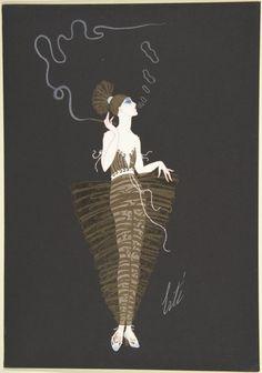 Erté, costume design for The American Millionairess