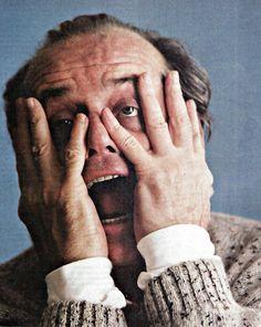 Jack Nicholson, actor, photography, black and white Jack Nicholson, Annie Leibovitz, Here's Johnny, Cinema, Star Wars, Celebrity Portraits, Black And White Portraits, Poses, Best Actor