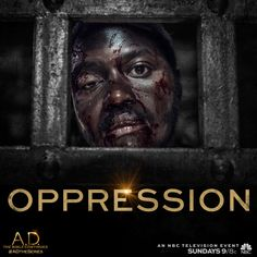 Can John's faith help him withstand the brutality to come? Discover an all new episode of A.D. The Bible Continues, Sunday at 9/8c on NBC!   A.D. The Series