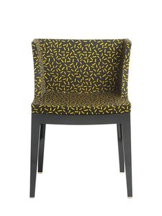 KARTELL - MADEMOISELLE MEMPHIS LETRASET CHAIR - BLACK/YELLOW