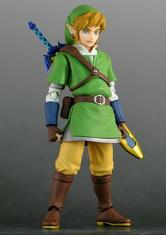 Zelda figurine, use for costume ideas and see what you can come up with.