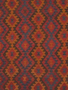 "6'7"" x 10'0"" Afghan Shiravan Kilim"