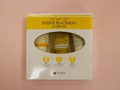 Mizon Let me out byebye blackhead 3-step kit , mizon, ur-yeppeo cosmética…