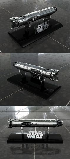 Lightsaber 4.0 on display stand. Made in 3d Studio Max 9 and Photoshop CS 2. My other lightsabers: Lightsaber 2.0 Lightsaber 3.0 Lightsaber 4.0 NEW! Lightsaber v5