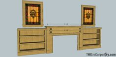 Great tips on designing and building a new fireplace mantel and surround.