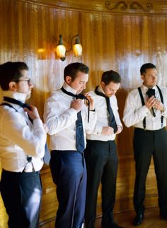 Groomsmen getting ready photo, Powel Crosley Estate Wedding