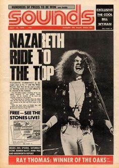 164 Best Nazareth Razamanaz Images Rock Bands Nazareth