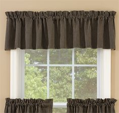 """Hartwell Lined Curtain Valance 72"""" x 14"""""""