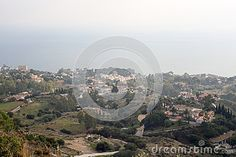 Photo about Aerial view upon Benalmadena Spain Andalucia from Stupa. Picture taken in december Image of marbella, andalicia, estate - 69955538 Benalmadena Spain, Cloudy Weather, Andalucia, Aerial View, Grand Canyon, City Photo, December, Royalty Free Stock Photos, Europe