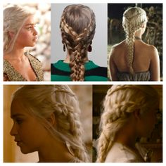 Wedding Hairstyle Wedding hair for Bride Unique hairstyle . I would love this! Having medieval looking hair on my wedding!